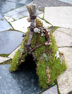 Hey, I found this really awesome Etsy listing at https://www.etsy.com/listing/183468460/garden-fairy-house-fairy-hut-woodland