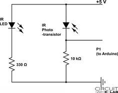 Build an optical detector circuit Model Railroad