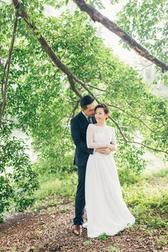 Sweet couple captured in Singapore // A Local Love Story: Jimmy + Carol's Engagement Shoot