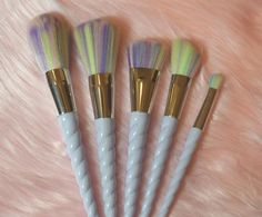 UnicHorn™ Makeup Brushes - 5 Piece Set – Sugar & Cotton