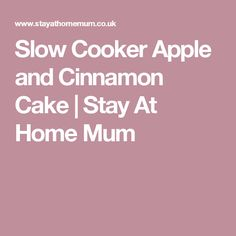Slow Cooker Sausages in Onion Gravy are a great idea for big or small family dinners, simple to make and its an old favourite. Sausages In Onion Gravy, Slow Cooker Apples, Cinnamon Cake, Stay At Home, Meals, Dinner, Cooking, Sweet