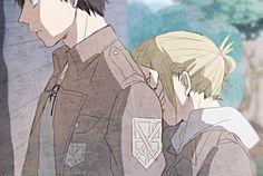 Eren and Annie pixiv
