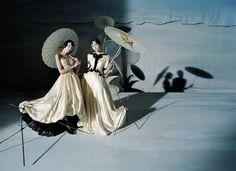 Xiao Wen Ju, Fei Fei Sun and Sang Woo Kim by Tim Walker for Vogue China, December 2014