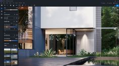 D5 Render 3d Rendering Software, Unreal Engine, Windows, Operating System, Mansions, Architecture, House Styles, Outdoor Decor, Home