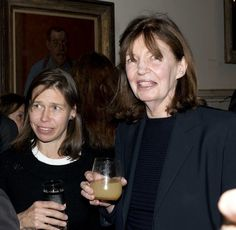Lady Sarah Chatto (L) and her step-mother Countess Lucy Snowdon (R) at a book party for  Charles Saumarez Smith's New Book,  October 15, 2012