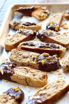 Gluten-Free Almond Biscotti – Fit Foodie Finds Made with almond meal, this gluten free almond biscotti is the ultimate Christmas cookie recipe to make this holiday season! Gluten Free Sweets, Gluten Free Cookies, Gluten Free Baking, Gluten Free Recipes, Gluten Free Biscotti Recipe, Coconut Flour Biscotti Recipe, Almond Flour Cookies, Biscotti Cookies, Healthy Cookies