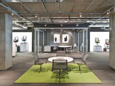 Allsteel Resource Center by Hickok Cole Architects, Washington, DC showroom store design office