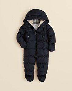 Canada Goose' Lamb Snowsuit - Infant Boys' Black, 6-12M