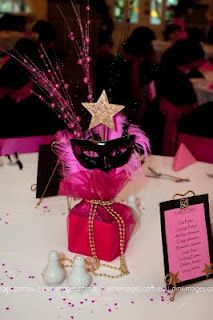 centerpiece for B's 15 or 16 party