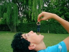 Forced Perspective Pictures. Don't really care for these specific photos but I enjoy the concept
