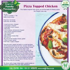 Turkey Recipes, Beef Recipes, Chicken Recipes, Pizza Topped Chicken, Dessert For Dinner, Healthy Eating Recipes, Good Food, Food And Drink