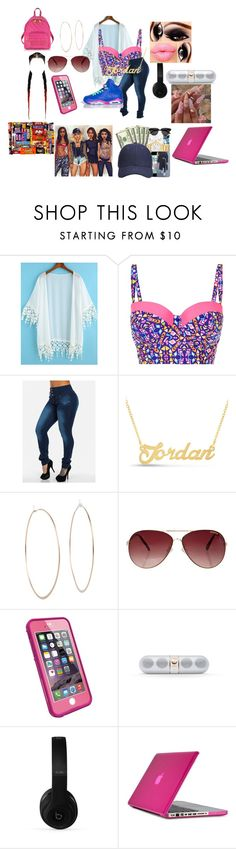 """""""Untitled #114"""" by zaralover242 ❤ liked on Polyvore featuring Freaker, Michael Kors, MINKPINK, LifeProof, Beats by Dr. Dre, Speck and Moschino"""