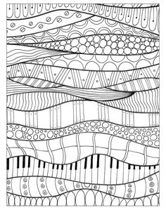 Doodle Patterns 88453580169696335 - Gallery ru / Photo # 8 – 2 – tymannost Source by annesophie_chev Dibujos Zentangle Art, Zentangle Drawings, Art Drawings, Zentangles, Doodle Art Designs, Doodle Patterns, Zentangle Patterns, Motif Art Deco, Art Lessons Elementary