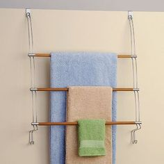 Better Bath Over-The-Door Towel Rack- Kohl's 20$