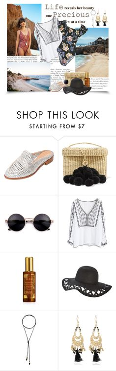 """""""Summer fun"""" by krystalkm-7 ❤ liked on Polyvore featuring Nannacay, Chicwish, By Terry and Vanessa Mooney"""