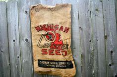 Antique Feed Sack