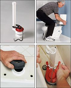 Installing a New Flush Valve in Your Toilet: step-by-step instructions from The Home Depot.