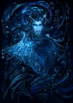 [Silmarillion] Ulmo by Wavesheep.deviantart.com on @deviantART #Valinor #Valar