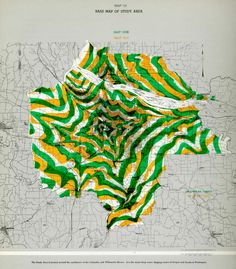Portland travel time contour map (1964) | Flickr - Photo Sharing!