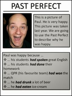 AskPaulEnglish: Intermediate - Past perfect Improve English Grammar, Improve English Speaking, English Grammar Rules, Advanced English Vocabulary, Teaching English Grammar, English Vocabulary Words, English Idioms, Learn English Words, English Phrases