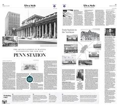The Grand Gateway in Waiting: Envisioning the New-Old Penn Station|Epoch Times #Arts #Architecture #PennsylvaniaStation #newspaper #editorialdesign