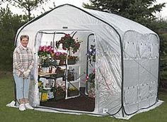 FlowerHouse FarmHouse portable greenhouse kits are good for overwintering and make great starter or beginner kits. Greenhouses For Sale, Hydroponic Farming, Hydroponic Growing, Diy Hydroponics, Garden Storage Shed, Outdoor Storage Sheds, Portable Greenhouse, Mini Greenhouse