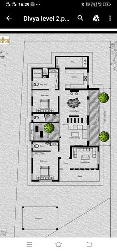Two Storey House Plans, One Storey House, Kerala House Design, Modern House Design, 3 Storey House Design, Villa Plan, Colonial House Plans, Modern Floor Plans, Tree House Designs