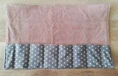Create slots for your toiletries with stitching