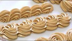 Hľadáte ten správny krém do vášho dezertu? Choc Ganache, Cookie Tutorials, Sweet Pastries, Russian Recipes, Cream Recipes, Buttercream Frosting, Cake Cookies, Gingerbread Cookies, Nutella