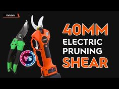 2021 New innovation For pruning trees! No more Hand cocoon---Kebtek 40mm electric pruning shear - YouTube Shearing, Pruning Shears, Garden Tools, Innovation, Electric, Trees, Youtube, Gardening Scissors, Yard Tools