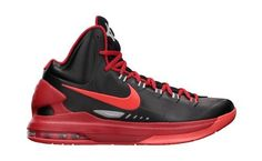 Nike KD V: Black Pack (Black/Bright Crimson-Uni Red-Strata) Nike. $125.00