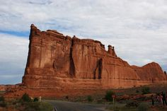 Ship Rock from Courthouse Towers, Arches National Park, with East-West Global Tours
