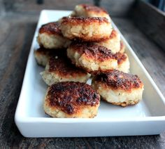 Rice and cauliflower burgers with nutmeg and ginger