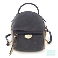 f4f2d7c0fda Womens Fashion Mini Backpack Purse Convertible Crossbody Bag Handbag - 4  Colors  SouthBayCollection  BackpackStyle