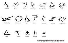 Adventure Universal Symbol by Imux on @DeviantArt