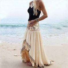 Fabric: Blended Color: Beige Size: S, M, L, XL
