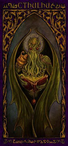 Cthulhu Art, Lovecraft Cthulhu, Hp Lovecraft, Call Of Cthulhu, Lovecraftian Horror, Eldritch Horror, Horror Art, Macabre, Occult