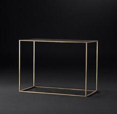 Pierce Shagreen Rectangular Side Table