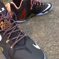 "2e8741cb01fd53 Retail Release Nike Elite LeBron XI ""Gold Collection"" On Feet Sneaker Review"