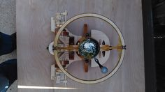 Collective Daydream - wooden automata / orrery