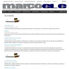 Website 'http://marcoele.com/actividades/a1-acceso/' snapped on Snapito! Actividades para el nivel A1 acceso y mucho más.