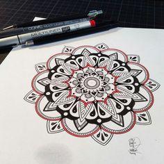 #mendala #tattoos #drawing