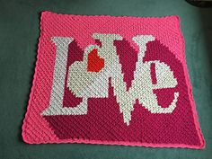 Ravelry: Heart Throb Blanket pattern by Marly Bird