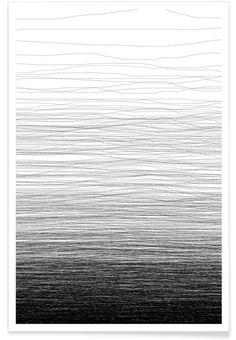 Fade als Premium Poster door Studio Nahili | JUNIQE