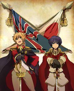 England and Japan
