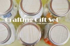 Crafty Mason Jar Gifts. I love this idea! Now all my girlfriends will know what they're getting for their birthdays this year!