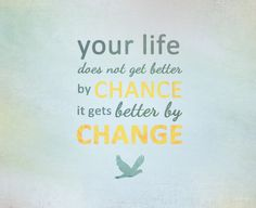 It's up to you to change the outcome of your life. #RecoveryMotivation from #RecoveryCoachTraining