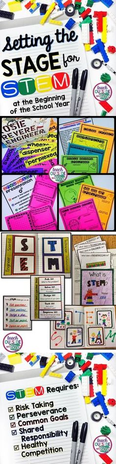 Before you try your first STEM challenge with your students, START HERE! Set your students up for success at the beginning of the school year. |STEM Challenges| STEM Activities | Back to School