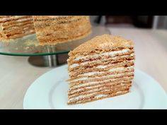 "CEL MAI GUSTOS ""MEDOVIK"" , tort de miere | Găteşte Reghina - YouTube Food Cakes, Cakes And More, Vanilla Cake, Cake Recipes, Deserts, Mai, Cooking, Breakfast, Youtube"