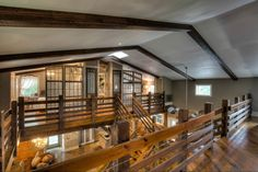 In search pf the most awesom barn house interiors? This article takes a look at two sensational barn homes, both with tons of great ideas. Barndominium Pictures, Barndominium Floor Plans, Pole Barn House Plans, Pole Barn Homes, Barn Style House Plans, Metal House Plans, Pole Barns, Barn Plans, Steel Building Homes